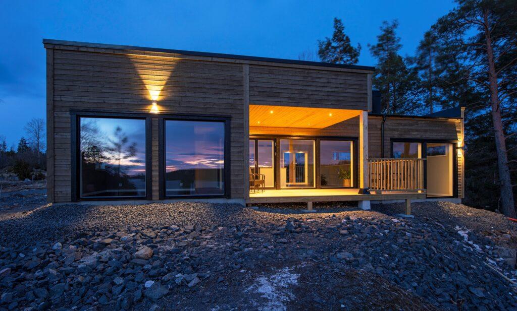 Villa med makalös utsikt. Fotograf Michael Lander.