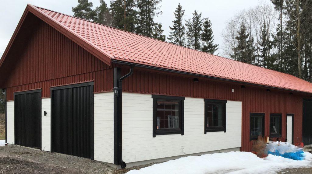 Garage 10*25 m
